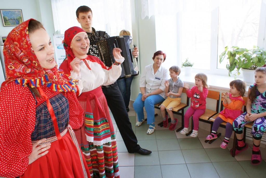"""Выступление артистов ансамбля народной песни """"Слобода"""""""